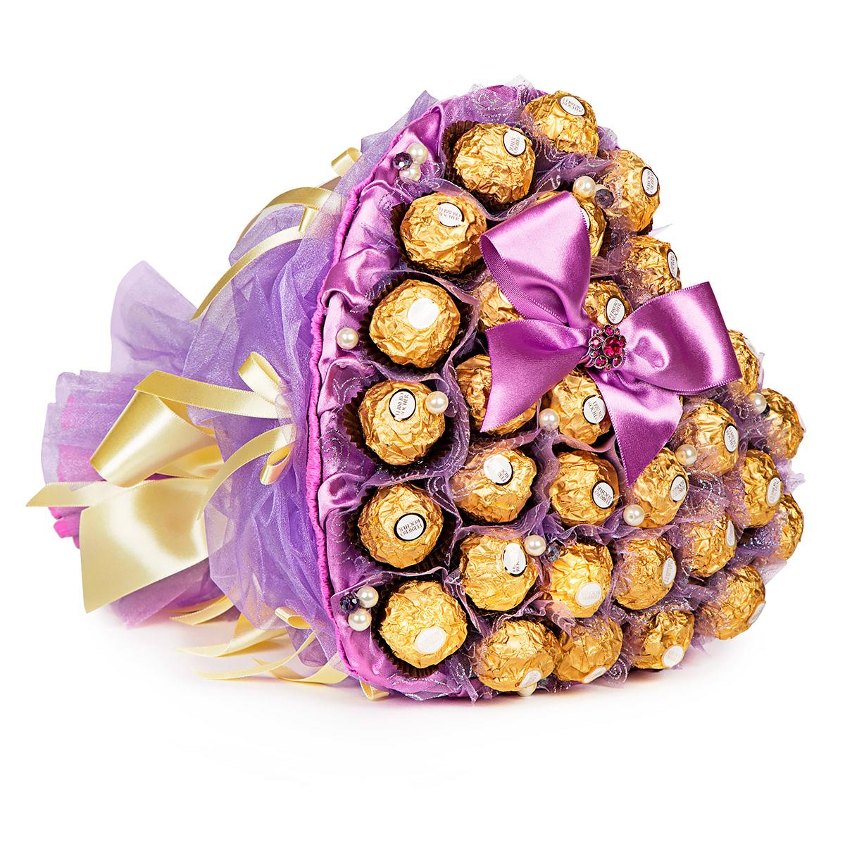 Букет купить, интернет магазин букет из конфет