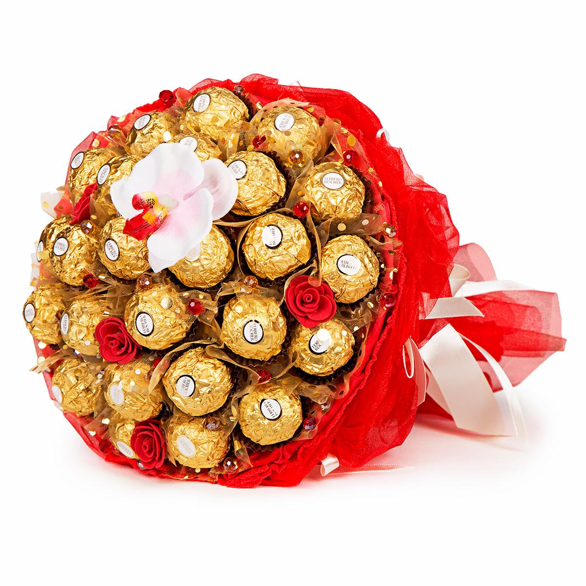 Рязань где заказать букет из конфет киев