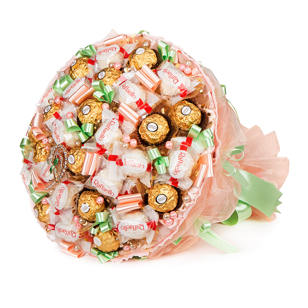 Заказ и доставка букетов из конфет москва