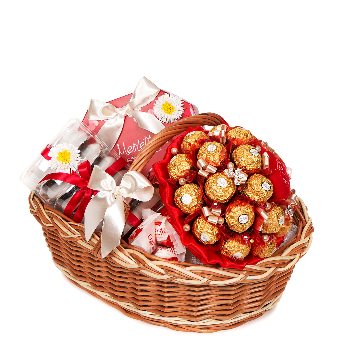 картинки конфеты в корзине