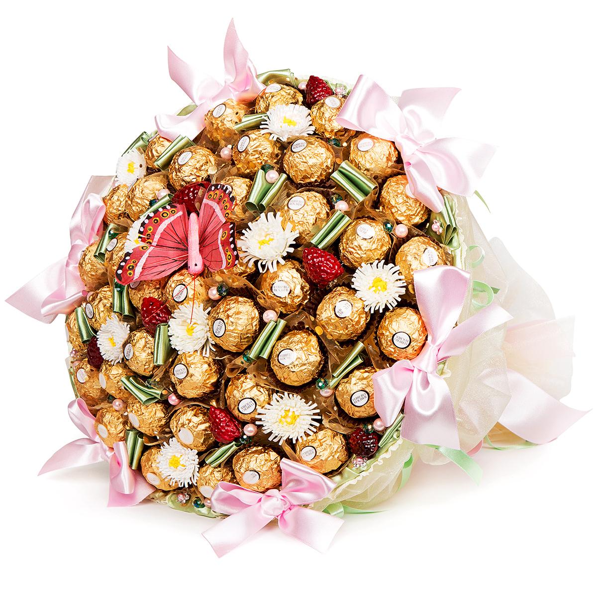 поздравления к подарку конфетный букет керхер